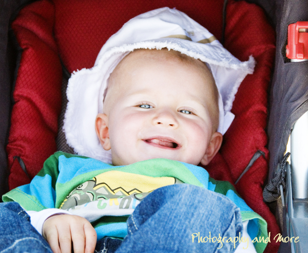 Baby boy laughing / children photographer CT