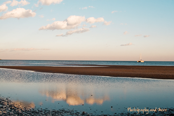 beach reflections / CT photographer