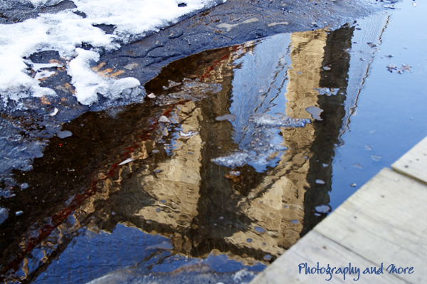 reflection brooklyn bridge / CT photographer