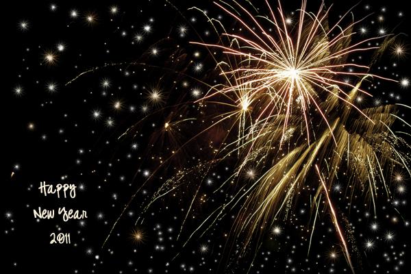 Fireworks - Happy New Year!