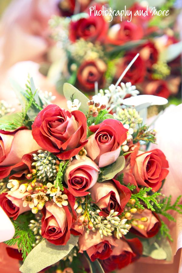 Flowers braids maids / CT wedding photographer