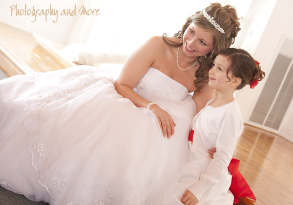 two angels in white / CT wedding photographer