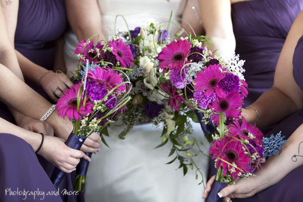 Flowers CT wedding photographer Photograph 6 Limo driver and church