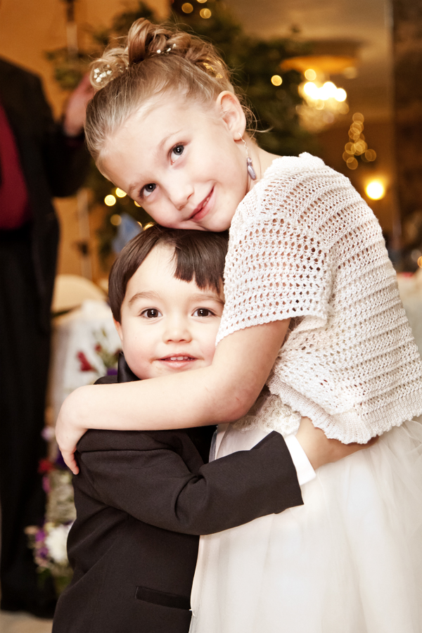 Flower girl and boy | CT wedding photographer