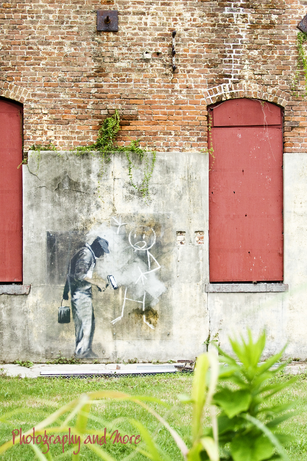 Banksy Nola / street art photography