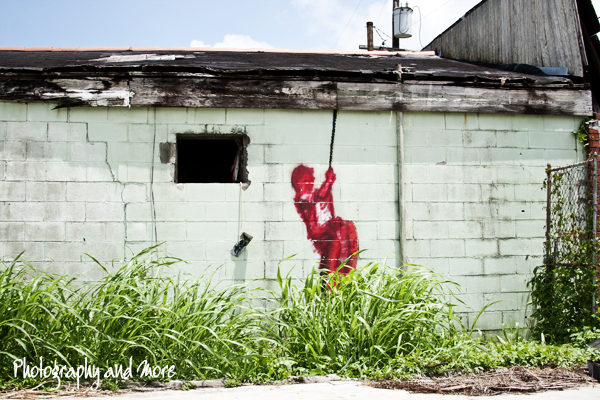 Banksy New Orleans / street art photography