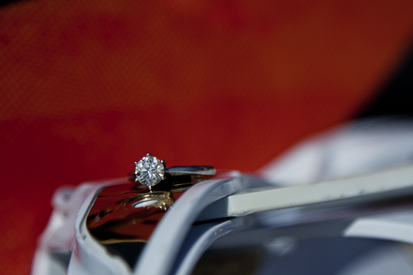 engagement ring / CT wedding photographer