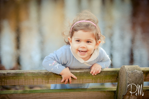 Baby girl portrait picture | Fairfield Children Photographer